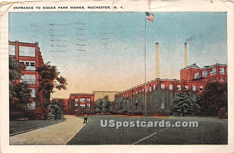 Kodak Park Works - Rochester, New York NY Postcard