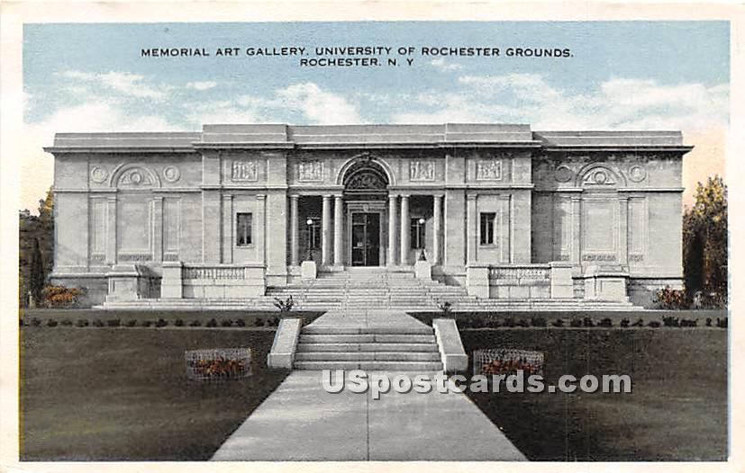 University off Rochester - New York NY Postcard