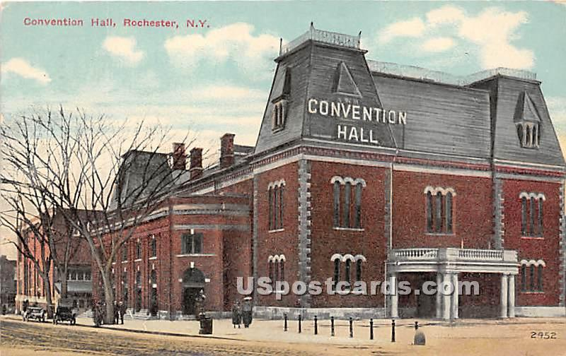 Convention Hall - Rochester, New York NY Postcard