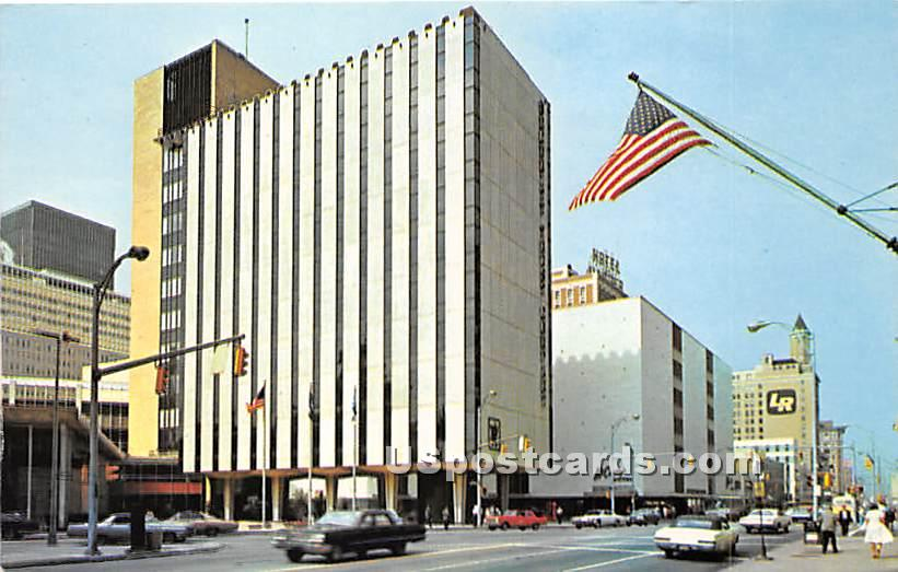 Security Trust Building - Rochester, New York NY Postcard
