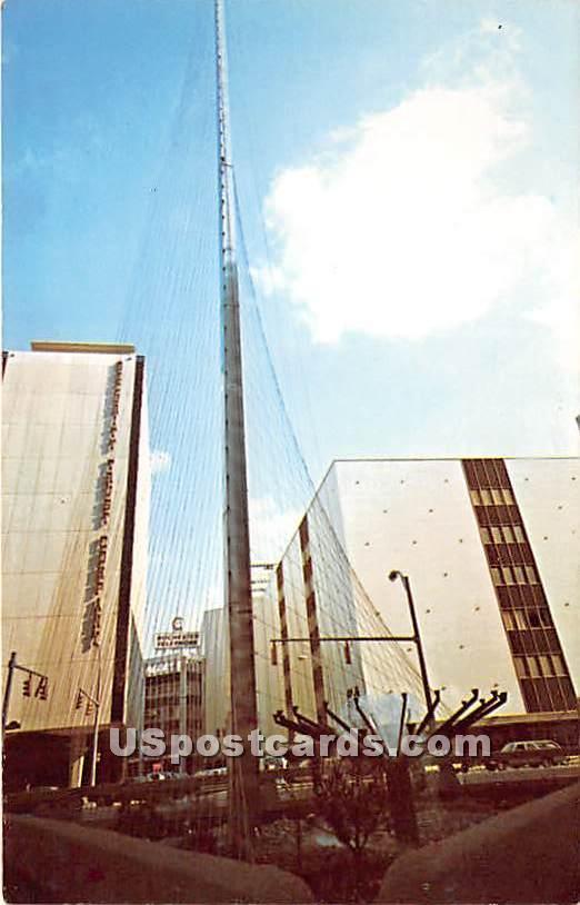 Liberty Pole - Rochester, New York NY Postcard