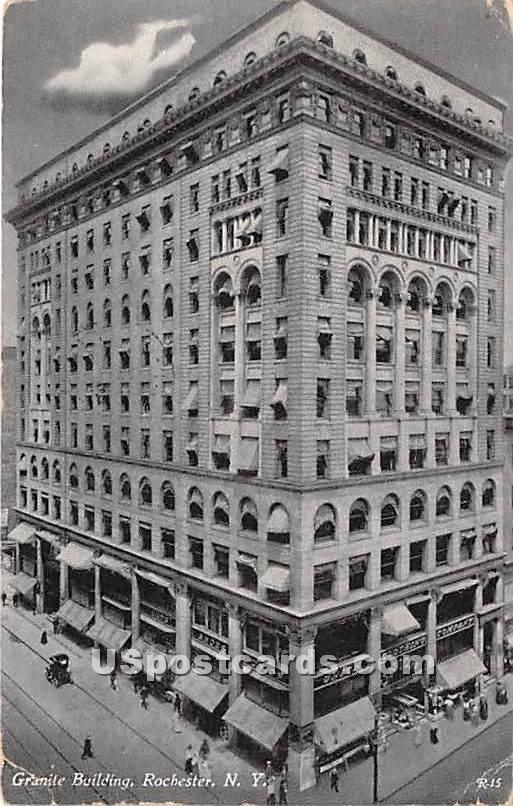Grantie Building - Rochester, New York NY Postcard