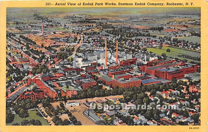 Kodak Park Works - Rochester, New York NY Postcard