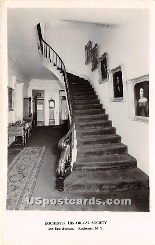 Rochester Historical Society - New York NY Postcard