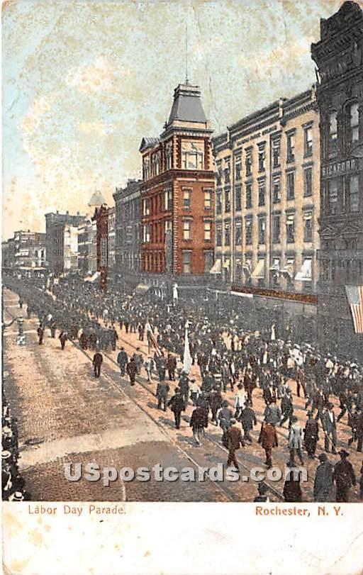 Labor Day Parade - Rochester, New York NY Postcard