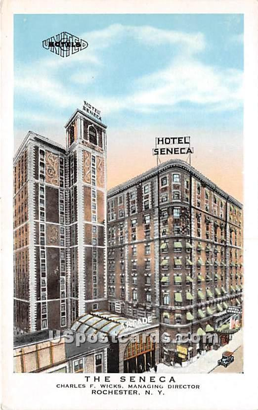 The Seneca - Rochester, New York NY Postcard