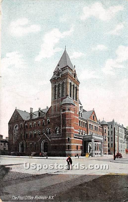 Post Office - Rochester, New York NY Postcard
