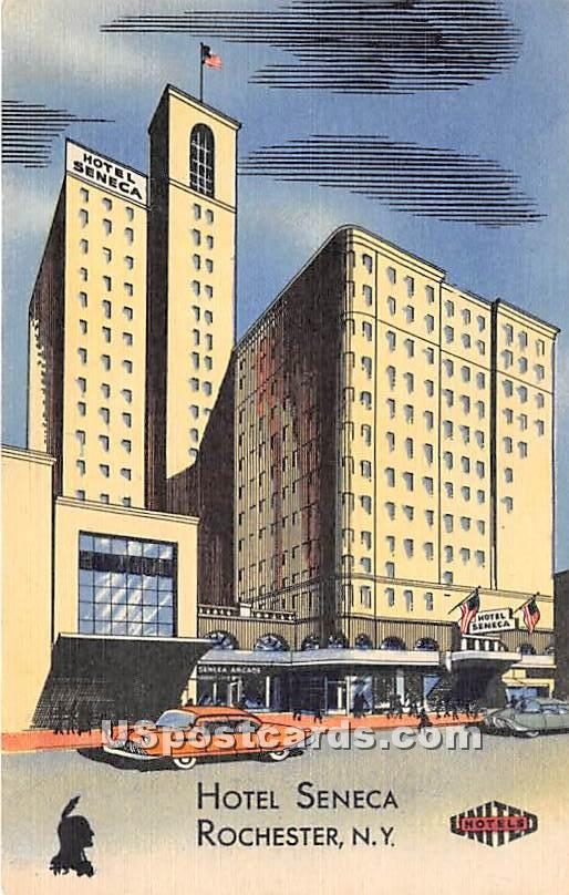 Hotel Seneca - Rochester, New York NY Postcard