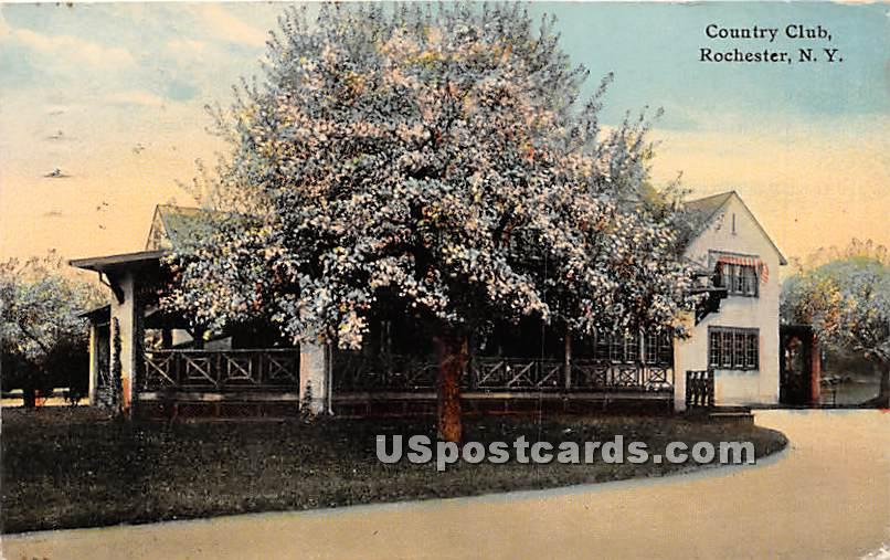 Country Club - Rochester, New York NY Postcard