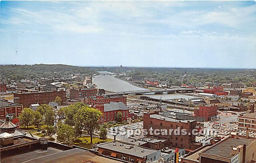 Top of the Plaza Restaurant - Rochester, New York NY Postcard