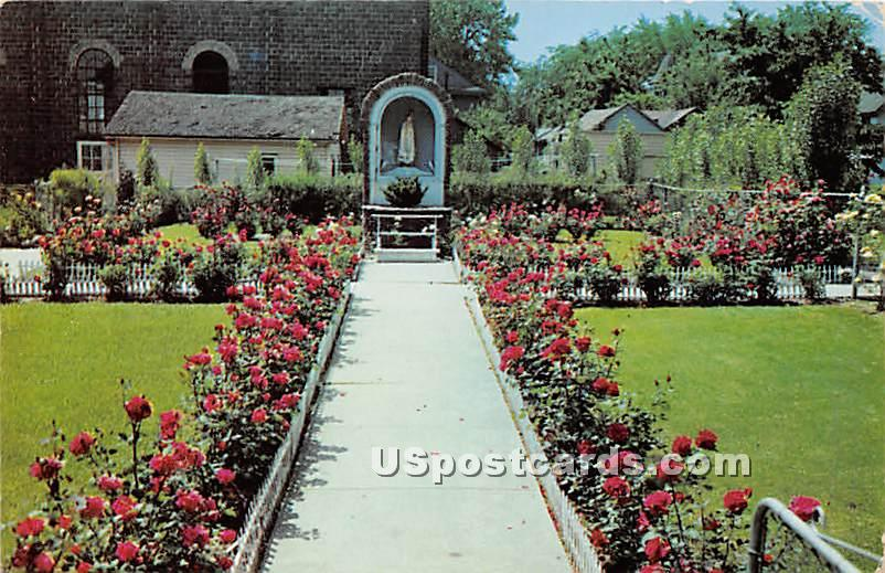 Shrine of Our Lady of the Rosary - Rochester, New York NY Postcard