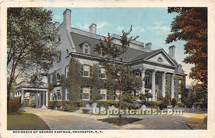 Residence of George Eastman - Rochester, New York NY Postcard