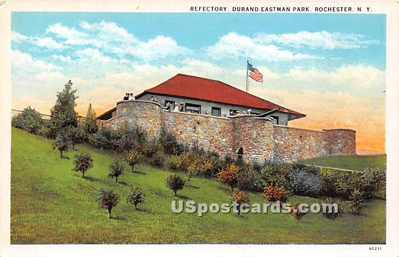 Refectory, Durand Eastman Park - Rochester, New York NY Postcard