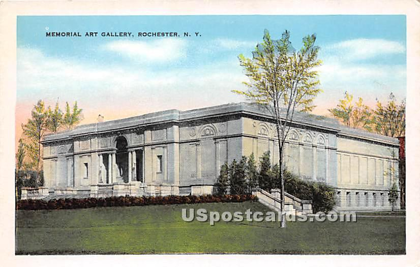 Memorial Art Gallery - Rochester, New York NY Postcard