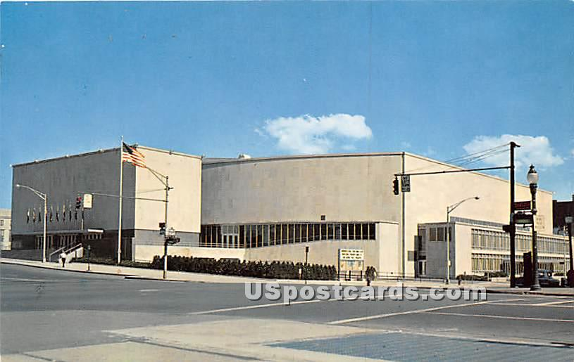 Rochester War Memorial Auditorium - New York NY Postcard