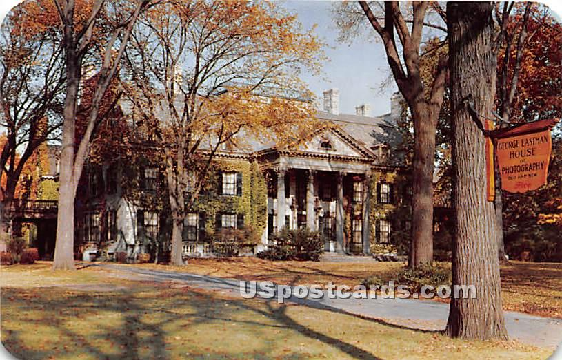George Eastman House of Photography - Rochester, New York NY Postcard