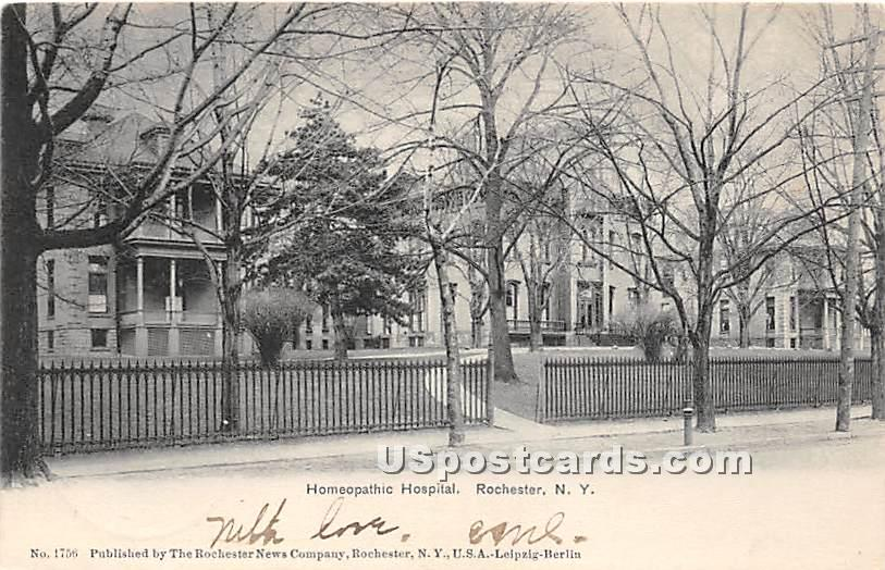 Homeopathic Hospital - Rochester, New York NY Postcard