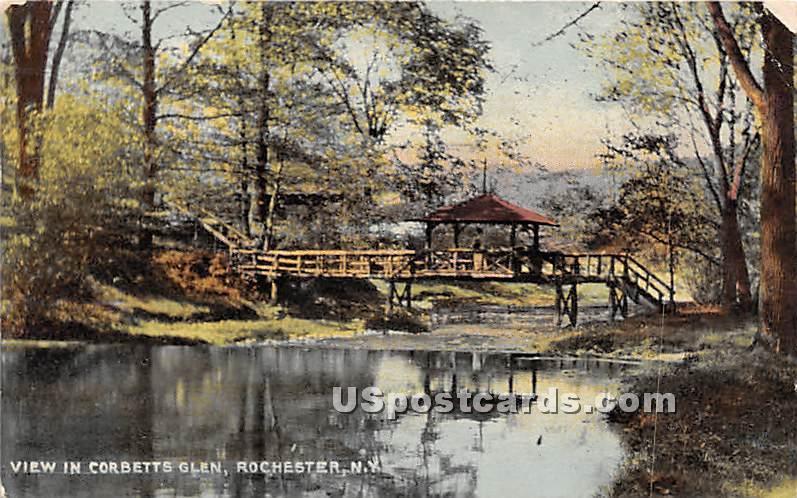 Corbetts Glen - Rochester, New York NY Postcard