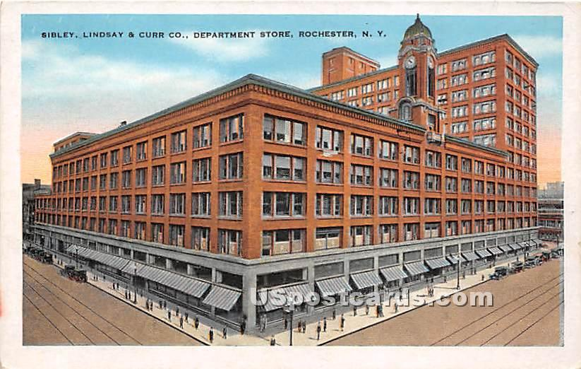 Sibley, Lindsay & Curr Co Department Store - Rochester, New York NY Postcard