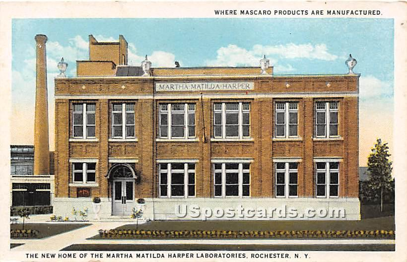 Martha Matilda Harper Laboratories - Rochester, New York NY Postcard