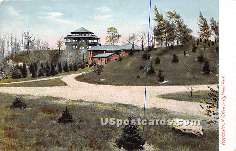 Highland Park - Rochester, New York NY Postcard