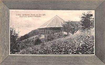 Kirkside Park on the Hill Roxbury, New York Postcard