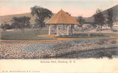 Kirkside Park Roxbury, New York Postcard