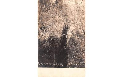 A Cleft in the Rock Rio, New York Postcard