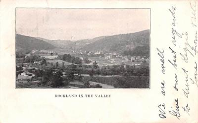 In the Valley Rockland, New York Postcard