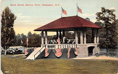 Band Stand Rochester, New York Postcard