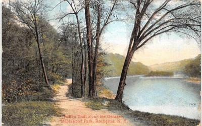 Indian Trail Rochester, New York Postcard