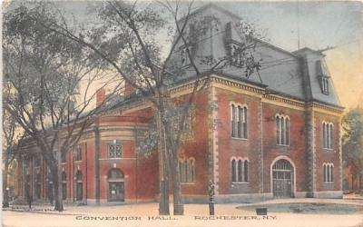 Convention Hall Rochester, New York Postcard