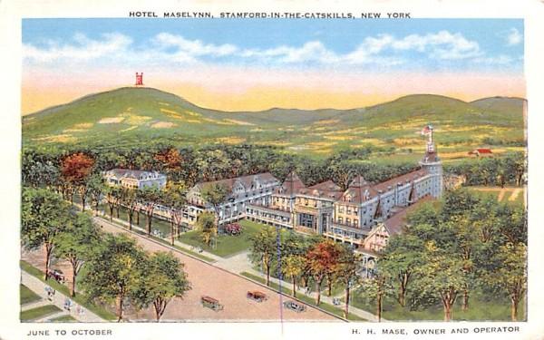 Hotel Maselynn Stamford, New York Postcard