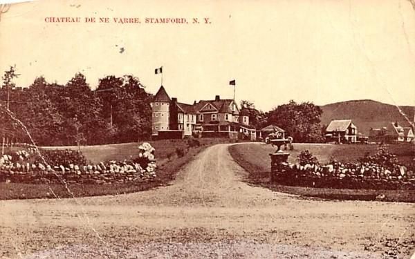 Chateau De Ne Varre Stamford, New York Postcard