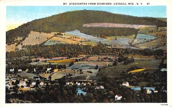 Mt Utsayantha Stamford, New York Postcard