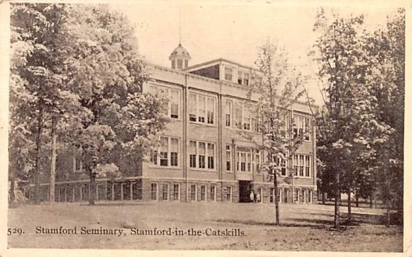 Stamford Seminary New York Postcard