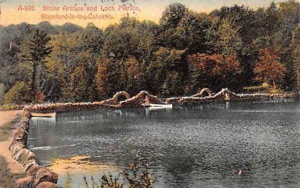 Stone Arches & Loch Marion Stamford, New York Postcard