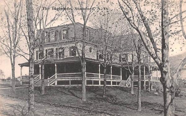 The Ingleside Stamford, New York Postcard