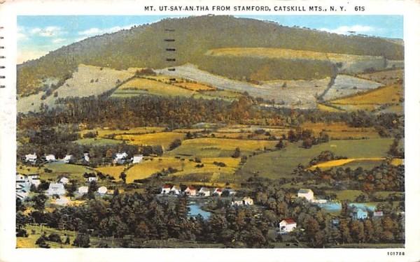 Mt Ut-Say-An-Tha Stamford, New York Postcard