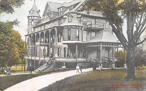New Grant House Stamford, New York Postcard