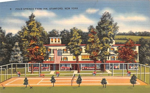 Cold Spring Farm Inn Stamford, New York Postcard