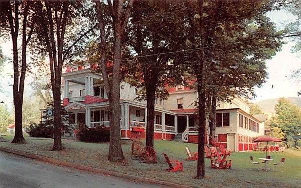 The Belvedere Stamford, New York Postcard