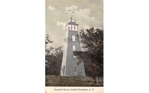 Stamford Tower New York Postcard