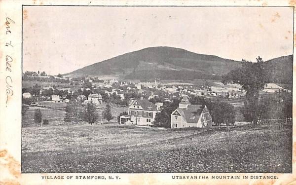 Village Stamford, New York Postcard