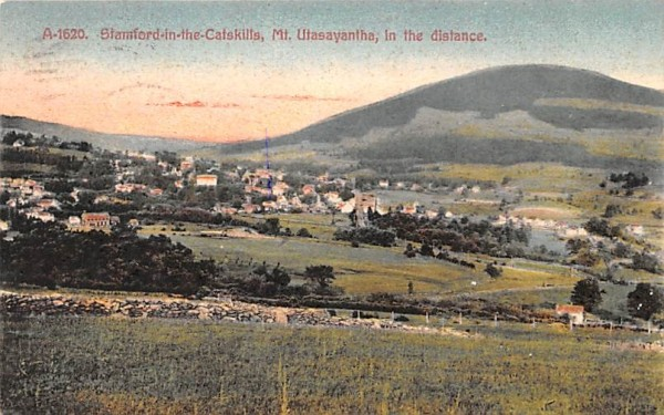 Mount Utsayantha Stamford, New York Postcard