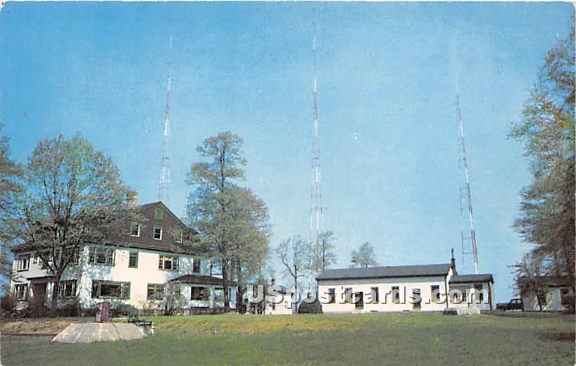 WBBR Radio Transmitter - Staten Island, New York NY Postcard