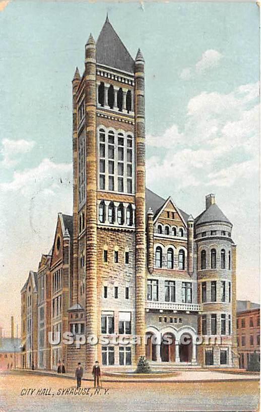 City Hall - Syracuse, New York NY Postcard