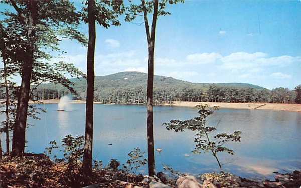 Indian Lake Sterling Forest, New York Postcard