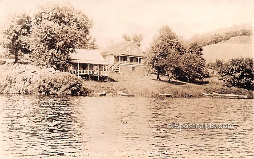 The Maples - Summit Lake, New York NY Postcard