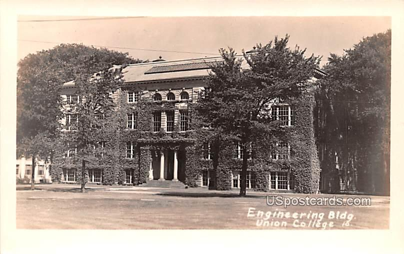 Engineering Building - Schenectady, New York NY Postcard